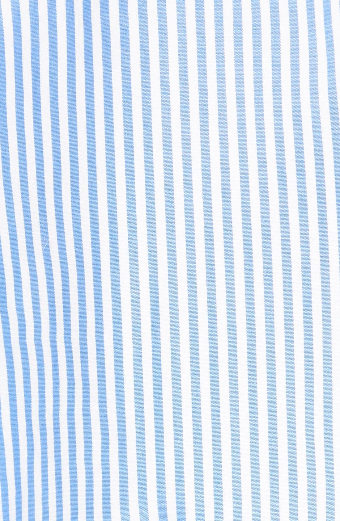 Alternate Image 5  - Carven Stripe Poplin Blouse