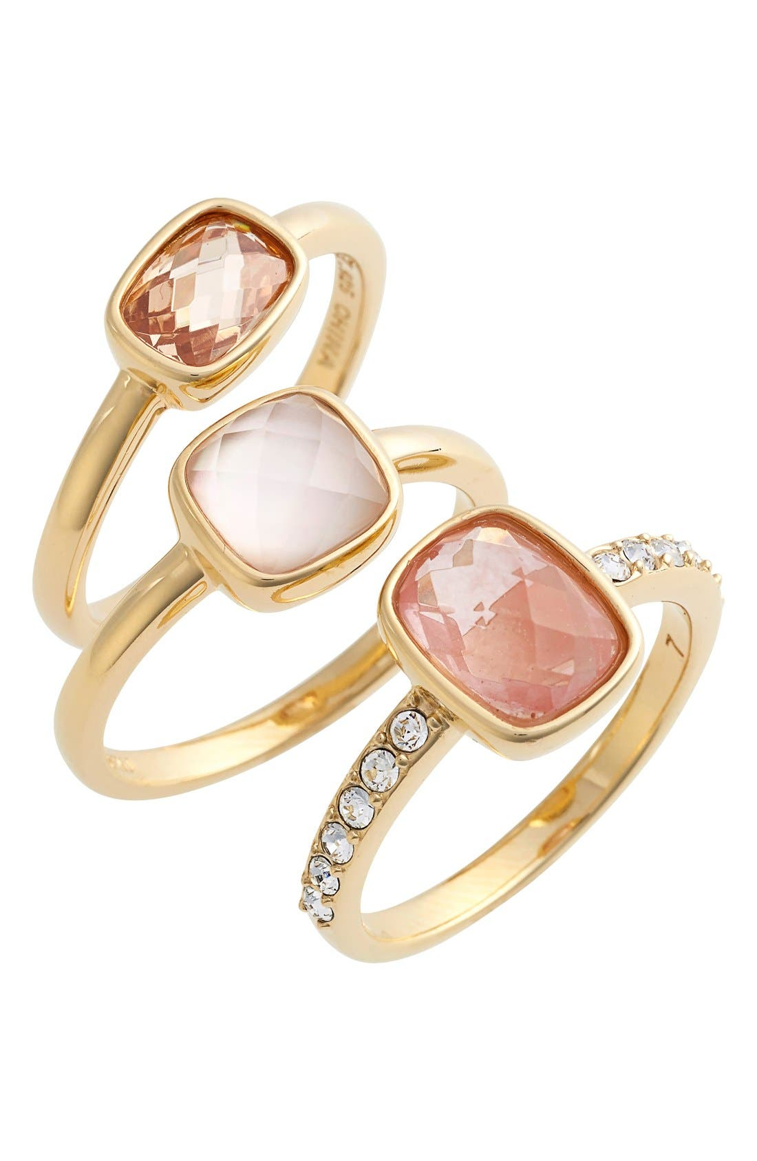 Alternate Image 1 Selected - Judith Jack Stone Stacking Rings (Set of 3)