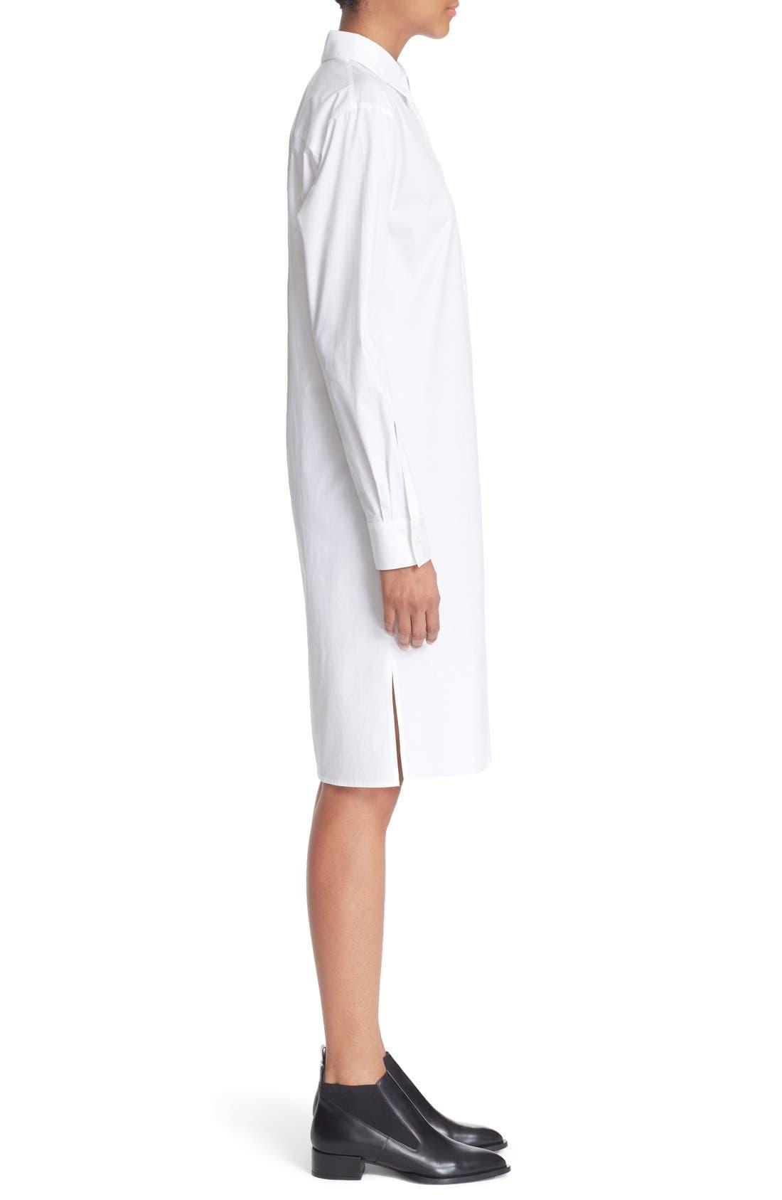 Alternate Image 4  - DKNY Long Sleeve Shirtdress