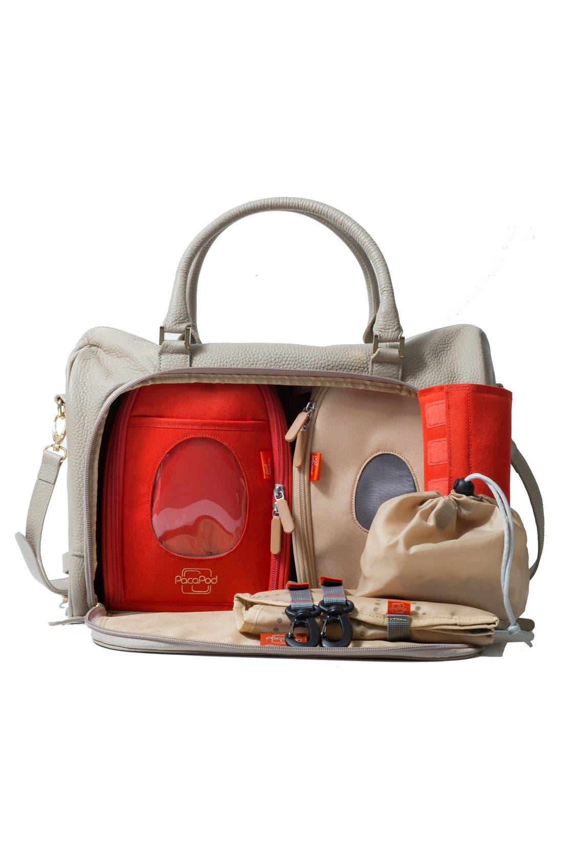 Alternate Image 3  - PacaPod 'Firenze' Leather Diaper Bag