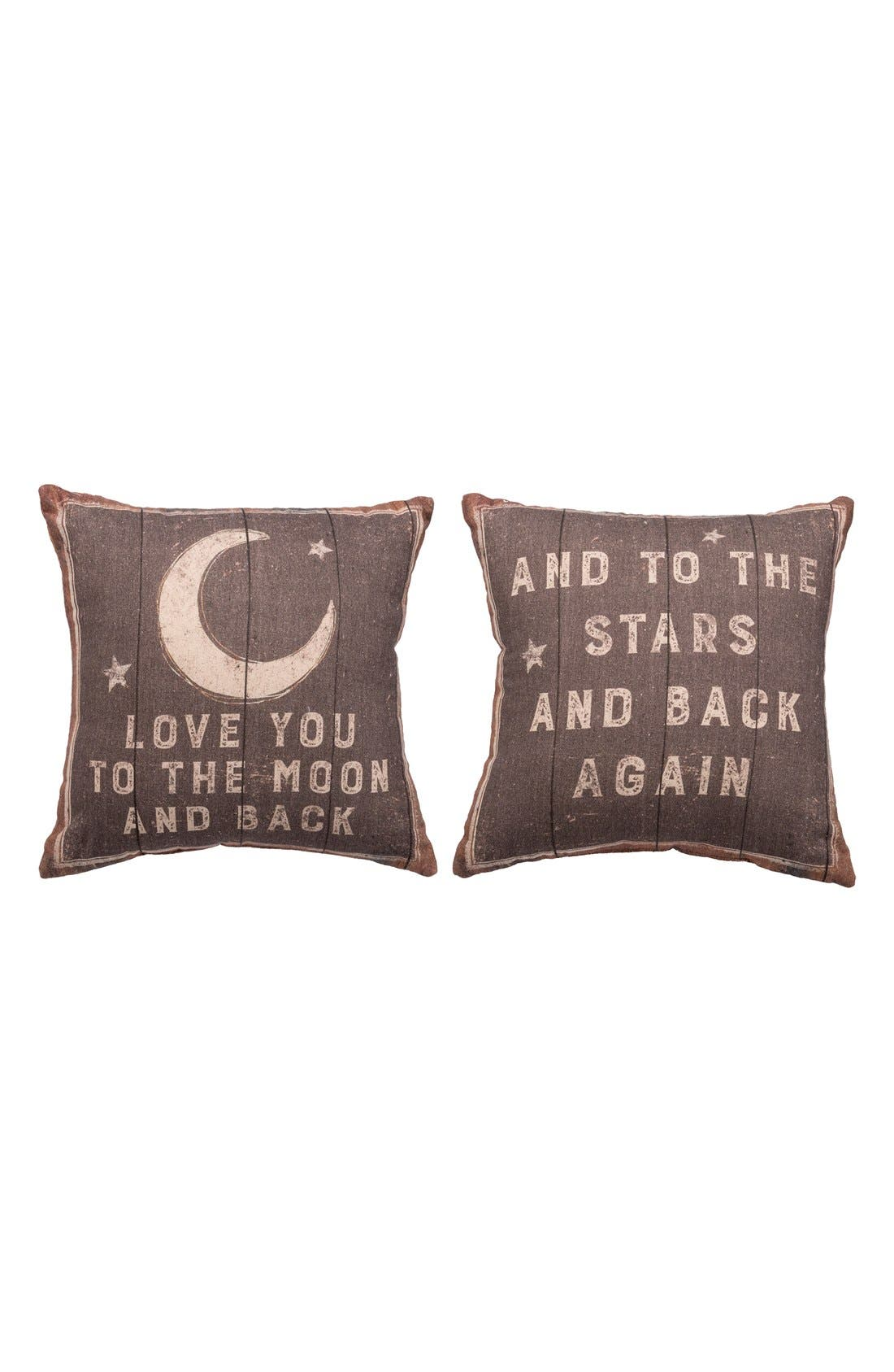 Alternate Image 2  - Primitives by Kathy 'Love You to the Moon' Pillow
