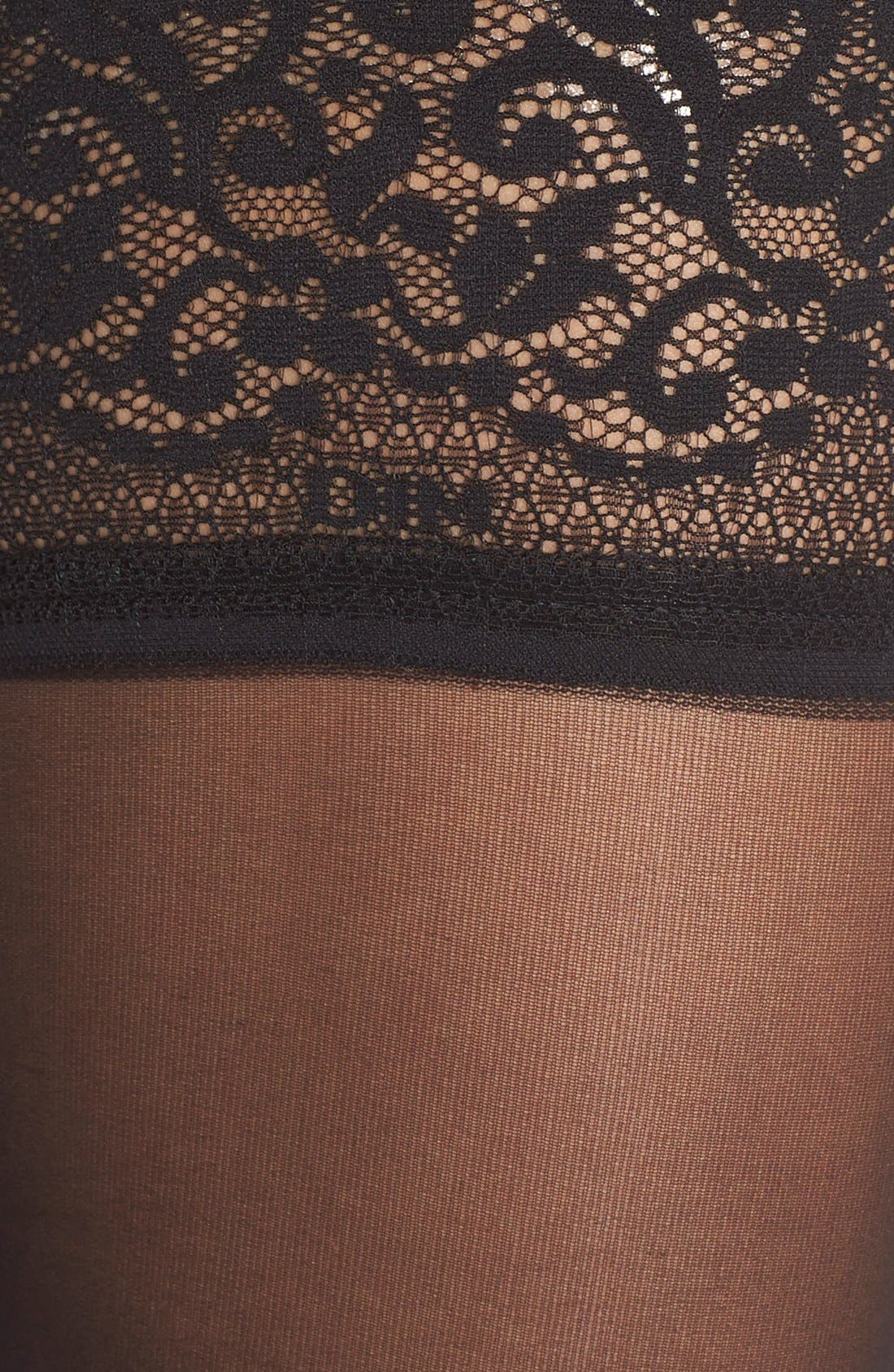 Alternate Image 2  - DIM Thigh High Stockings