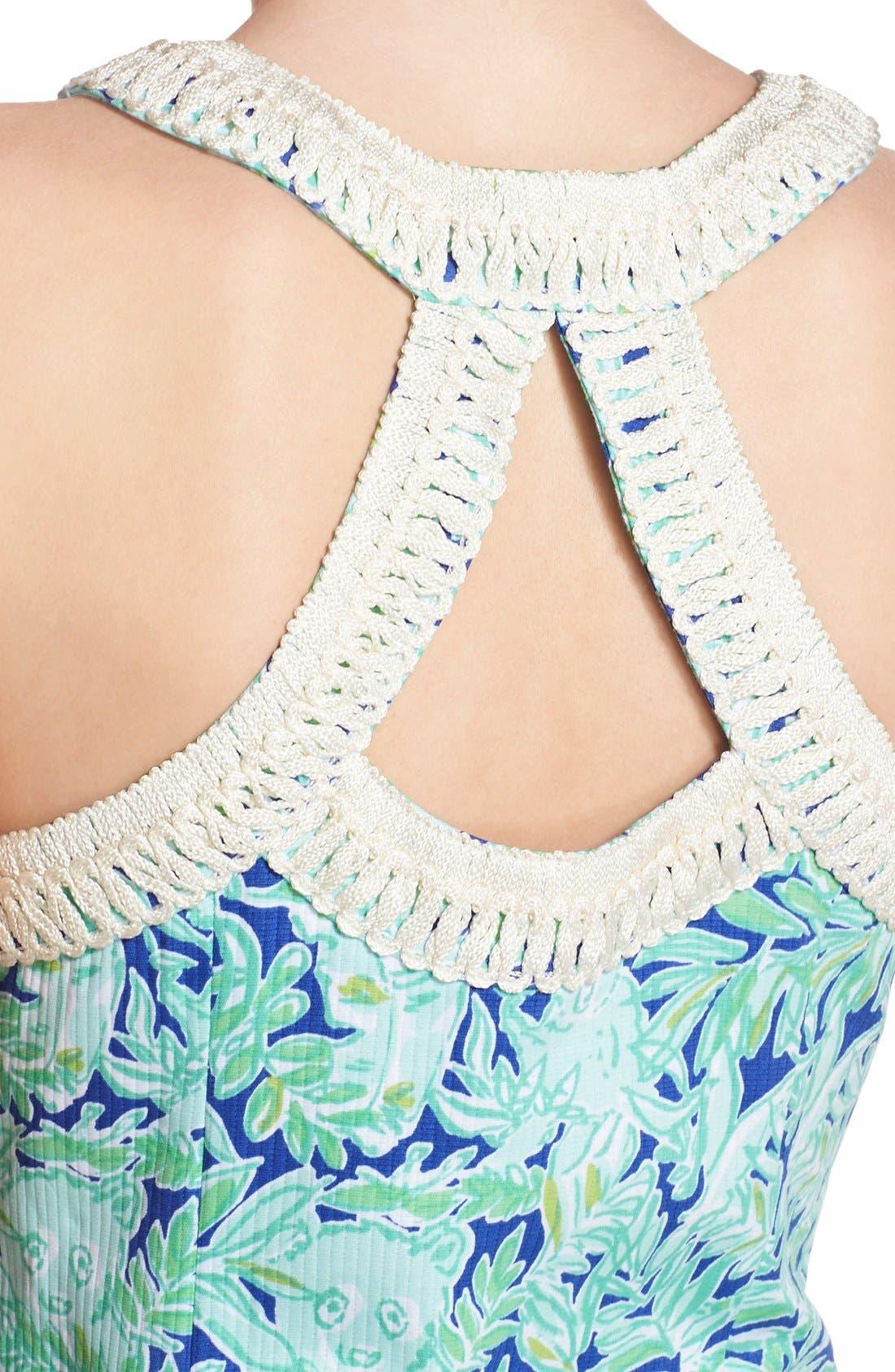Alternate Image 5  - Lilly Pulitzer® 'Lea' Cotton Shift Sheath Dress