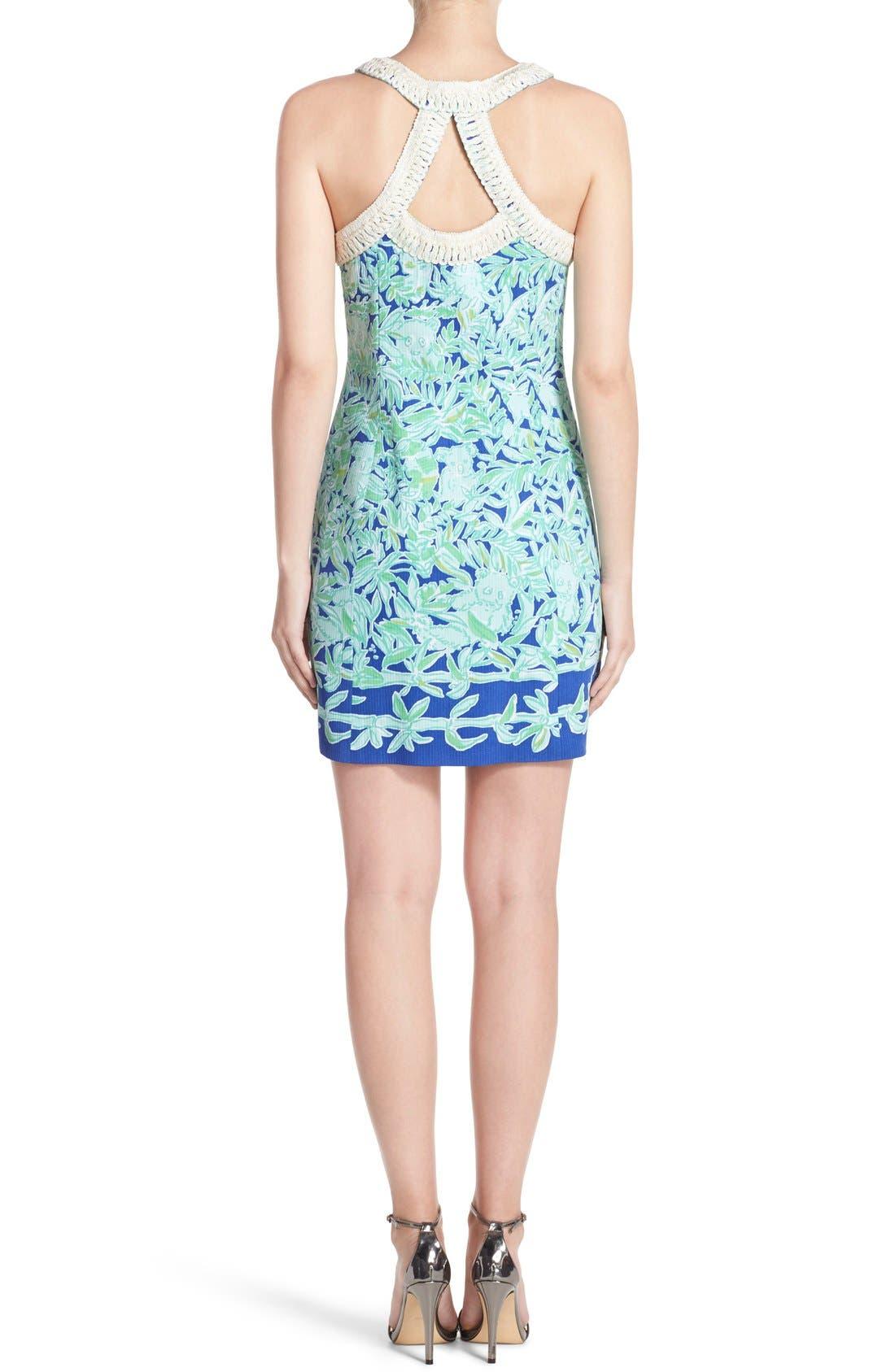 Alternate Image 2  - Lilly Pulitzer® 'Lea' Cotton Shift Sheath Dress