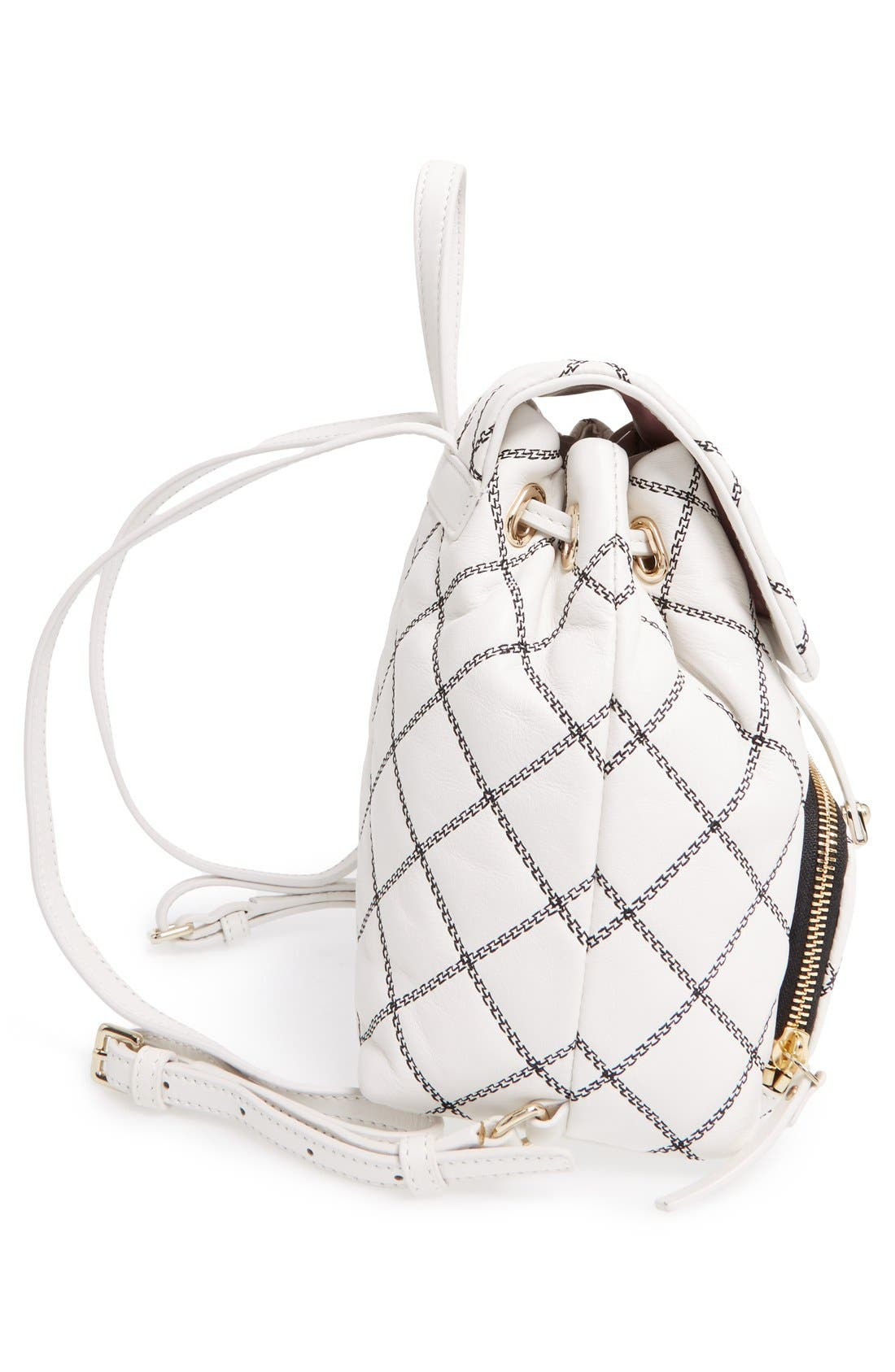 Alternate Image 5  - kate spade new york 'emerson place - jessa' quilted leather backpack