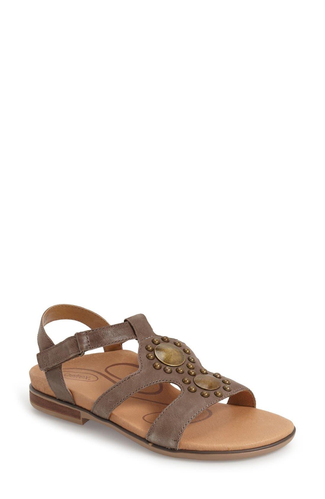 Aetrex 'Vivan' Gladiator Sandal (Women)