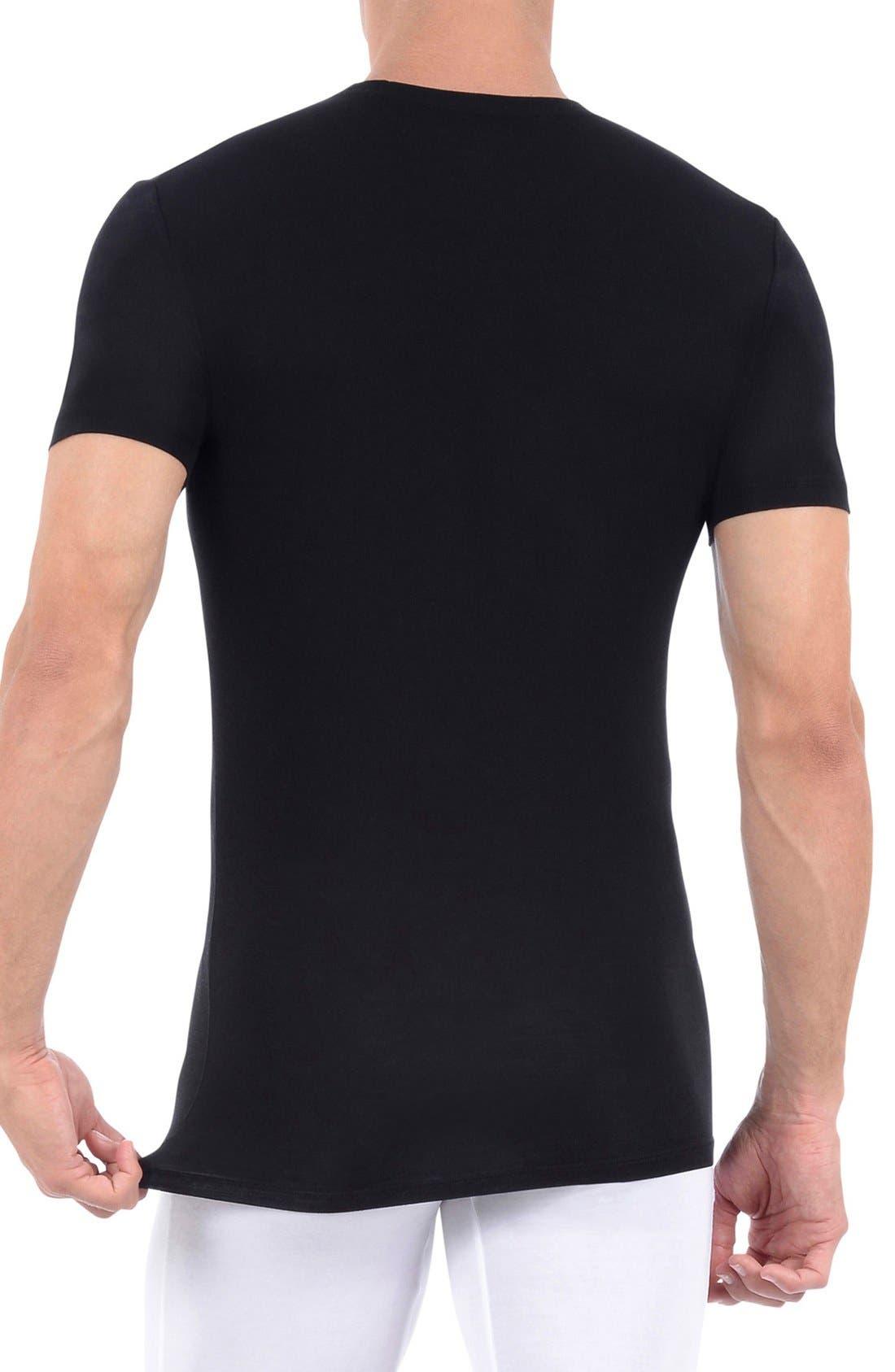 Alternate Image 2  - Tommy John 'Second Skin' Crewneck Undershirt