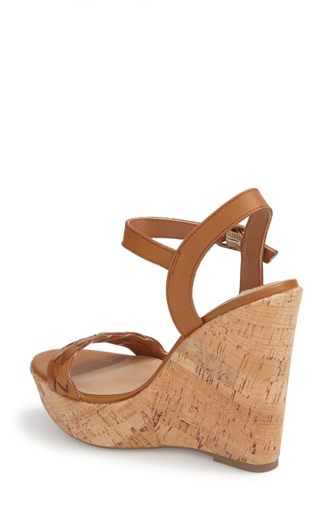 Alternate Image 2  - Steve Madden 'Emmey' Platform Wedge Sandal (Women)