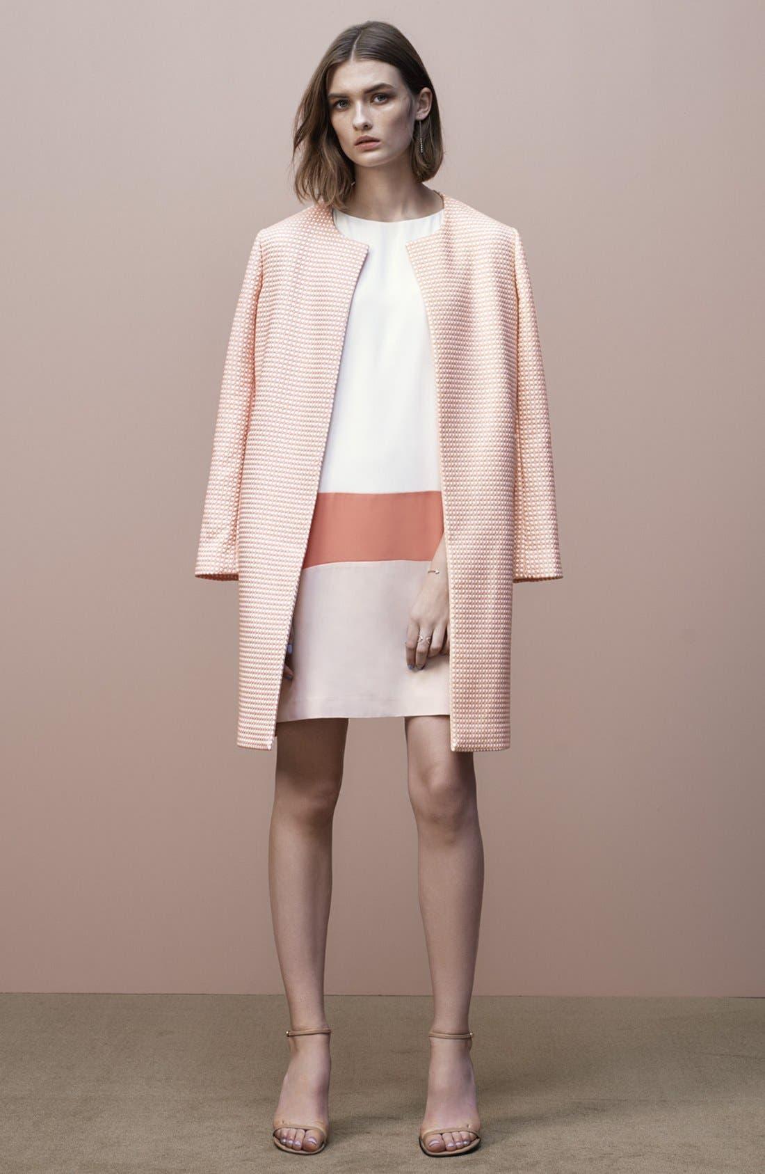 Alternate Image 6  - Halogen® Colorblock Shift Dress (Regular & Petite)
