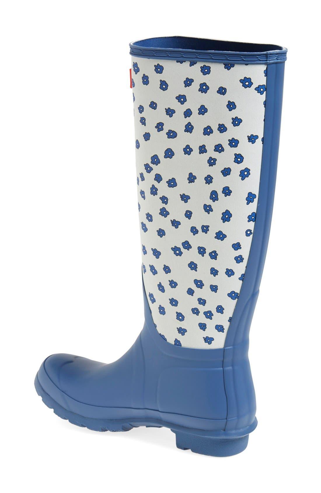 Alternate Image 2  - Hunter 'Original Tall - Festival Floral' Rain Boot (Women)