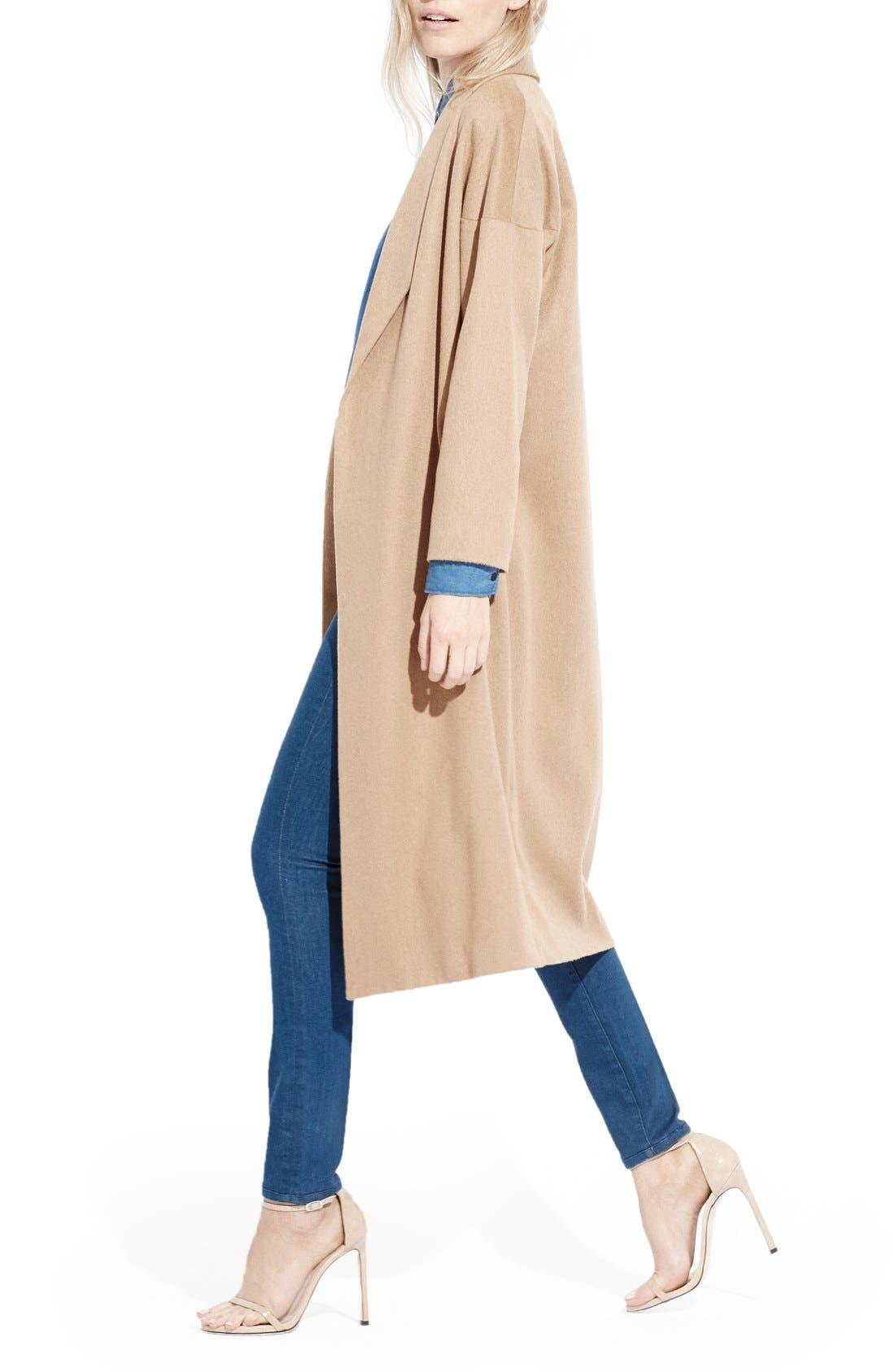 Alternate Image 3  - AYR'The Robe' Camel Hair MaxiCoat