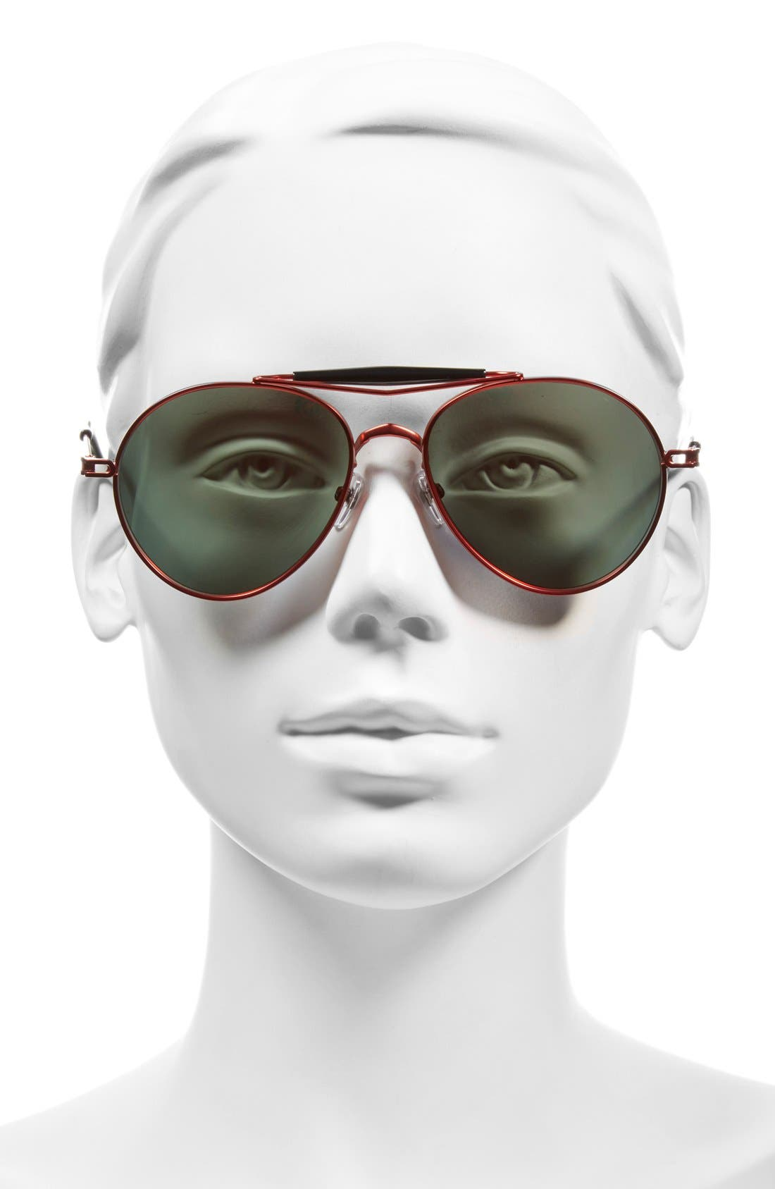 Alternate Image 2  - Givenchy 56mm Aviator Sunglasses