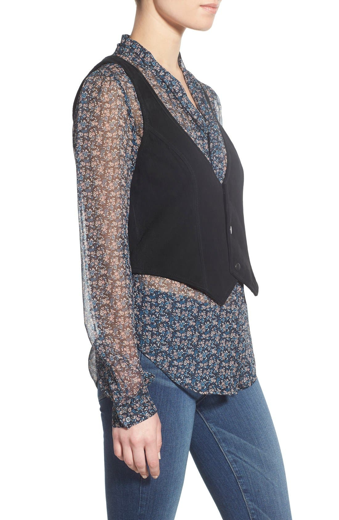 Alternate Image 3  - PAIGE 'Janelle' Suede Vest