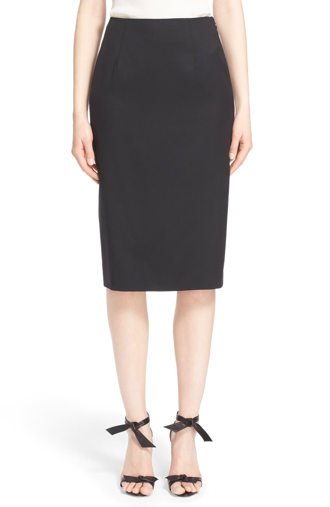 nordstrom signature and caroline issa wool suiting pencil