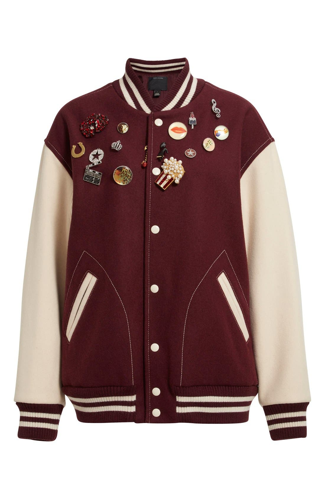 Alternate Image 4  - MARC JACOBS Embellished Varsity Jacket