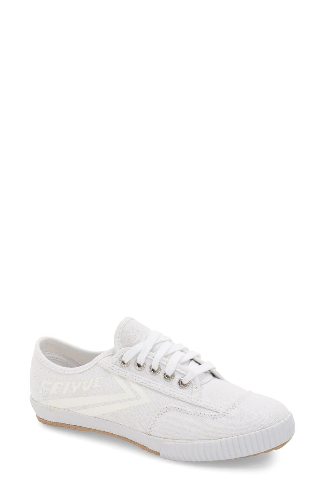 Alternate Image 1 Selected - Feiyue. 'Fe Lo Plain' Canvas Sneaker (Women)