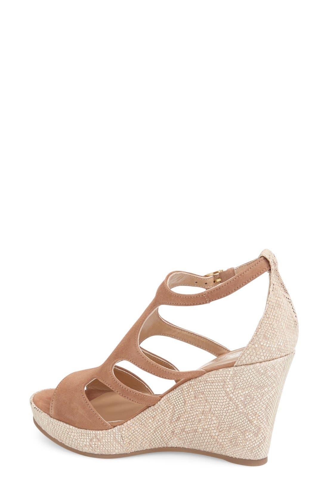 Alternate Image 2  - Cordani 'Lennix' Platform Wedge Sandal (Women)