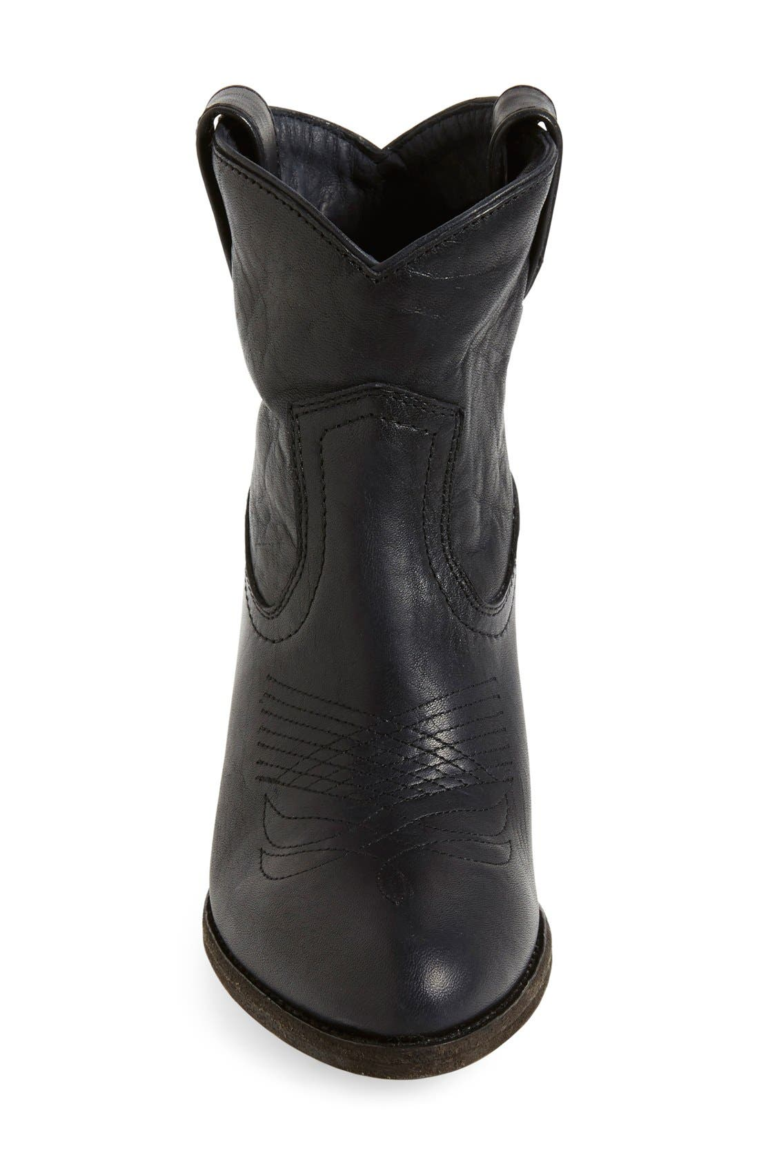 Alternate Image 3  - Frye 'Ilana' Short Western Boot (Women)