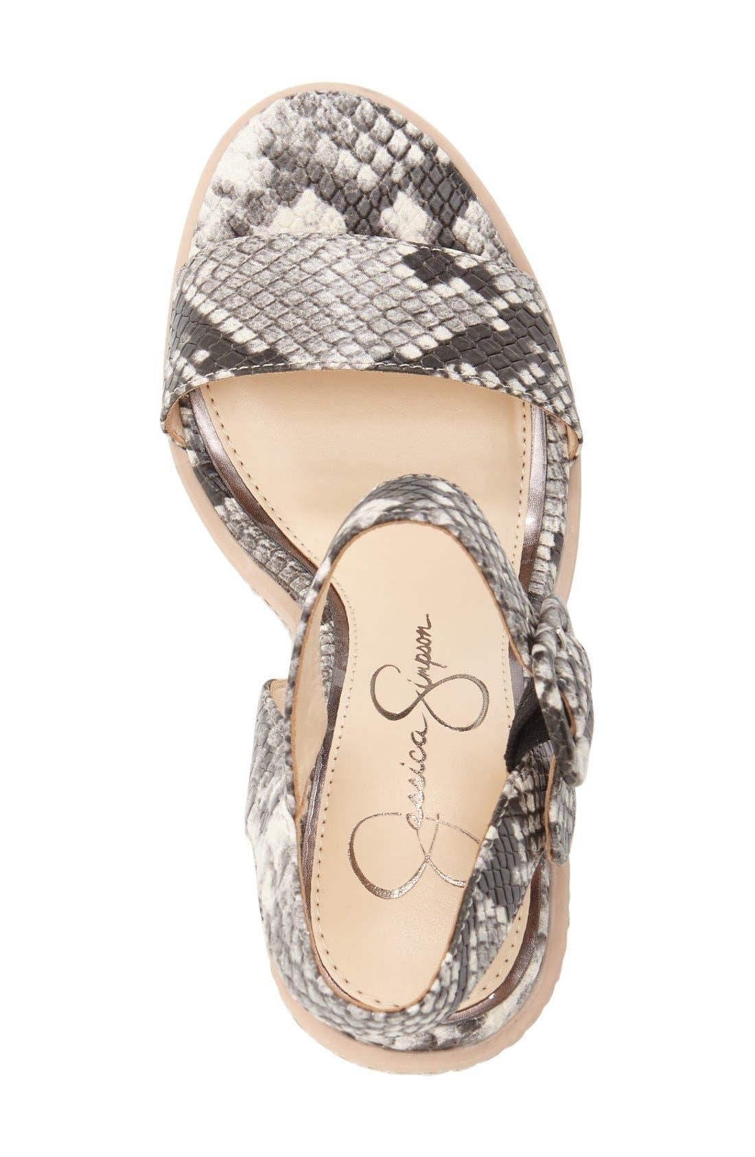 Alternate Image 3  - Jessica Simpson 'Ayala' Wedge Sandal (Women)