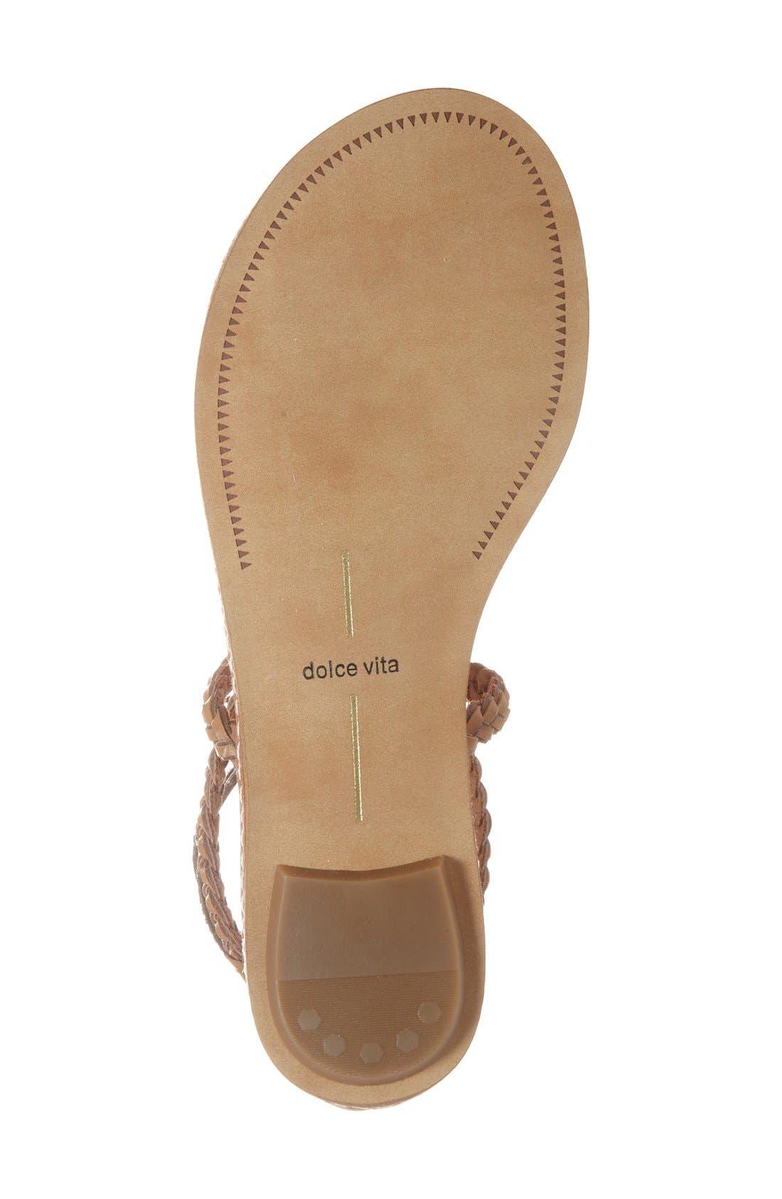 Alternate Image 4  - Dolce Vita 'Keoni' Flat Sandal (Women)