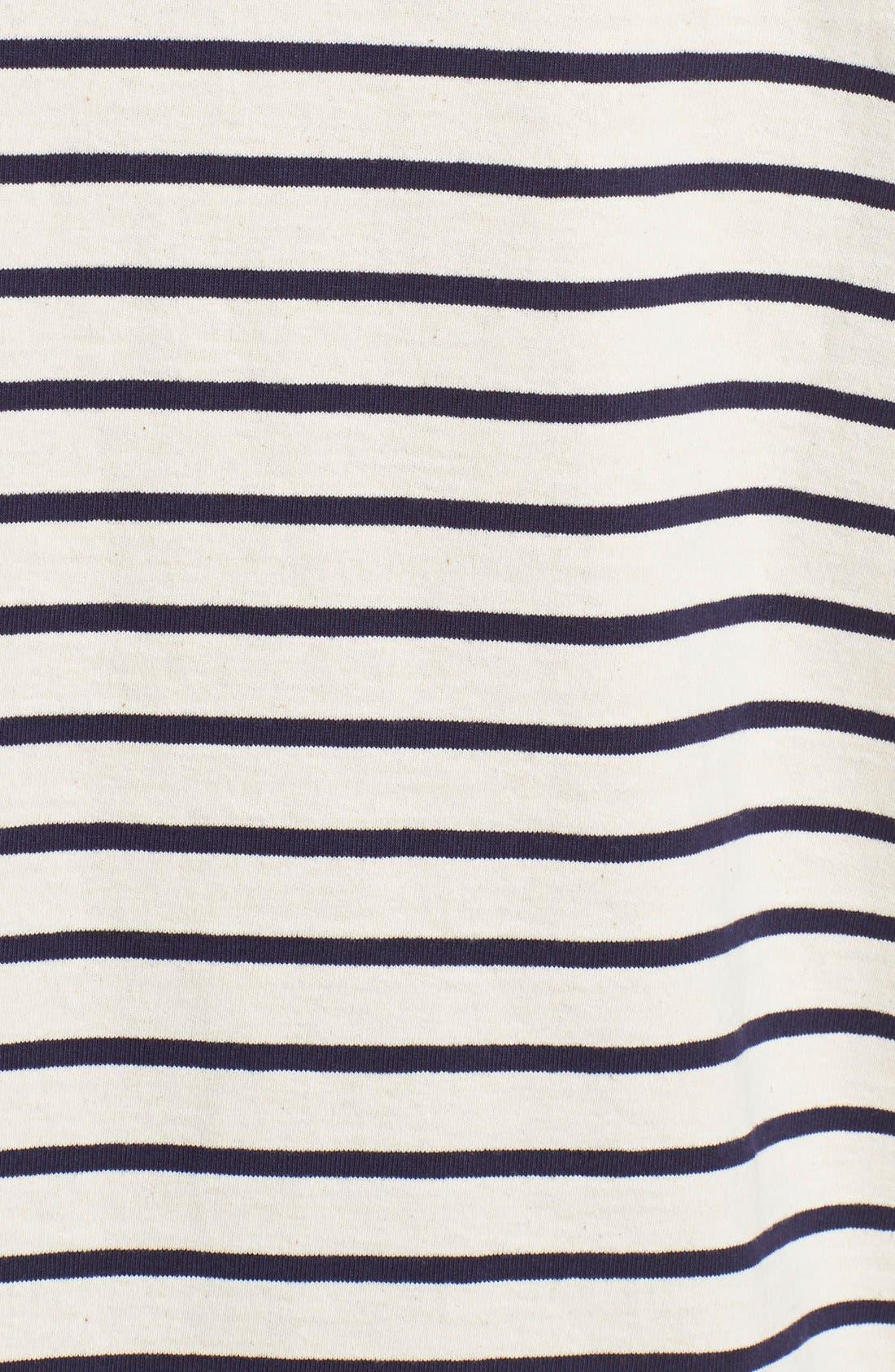 Alternate Image 3  - Y's by Yohji Yamamoto Stripe A-Line Blouse
