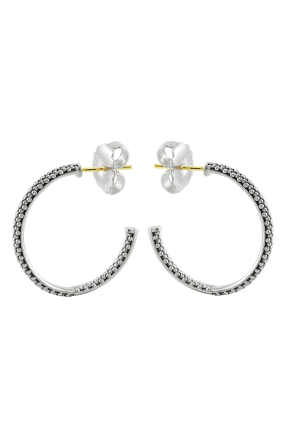 Alternate Image 3  - LAGOS Caviar Hoop Earrings