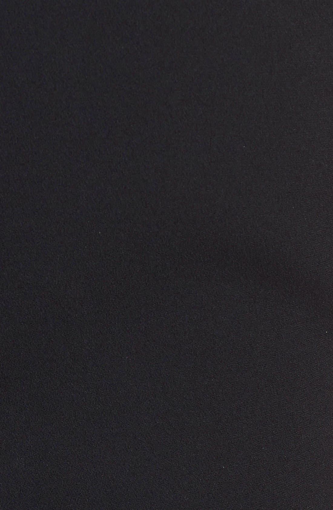 Alternate Image 3  - Victoria Beckham Crepe Sheath Dress
