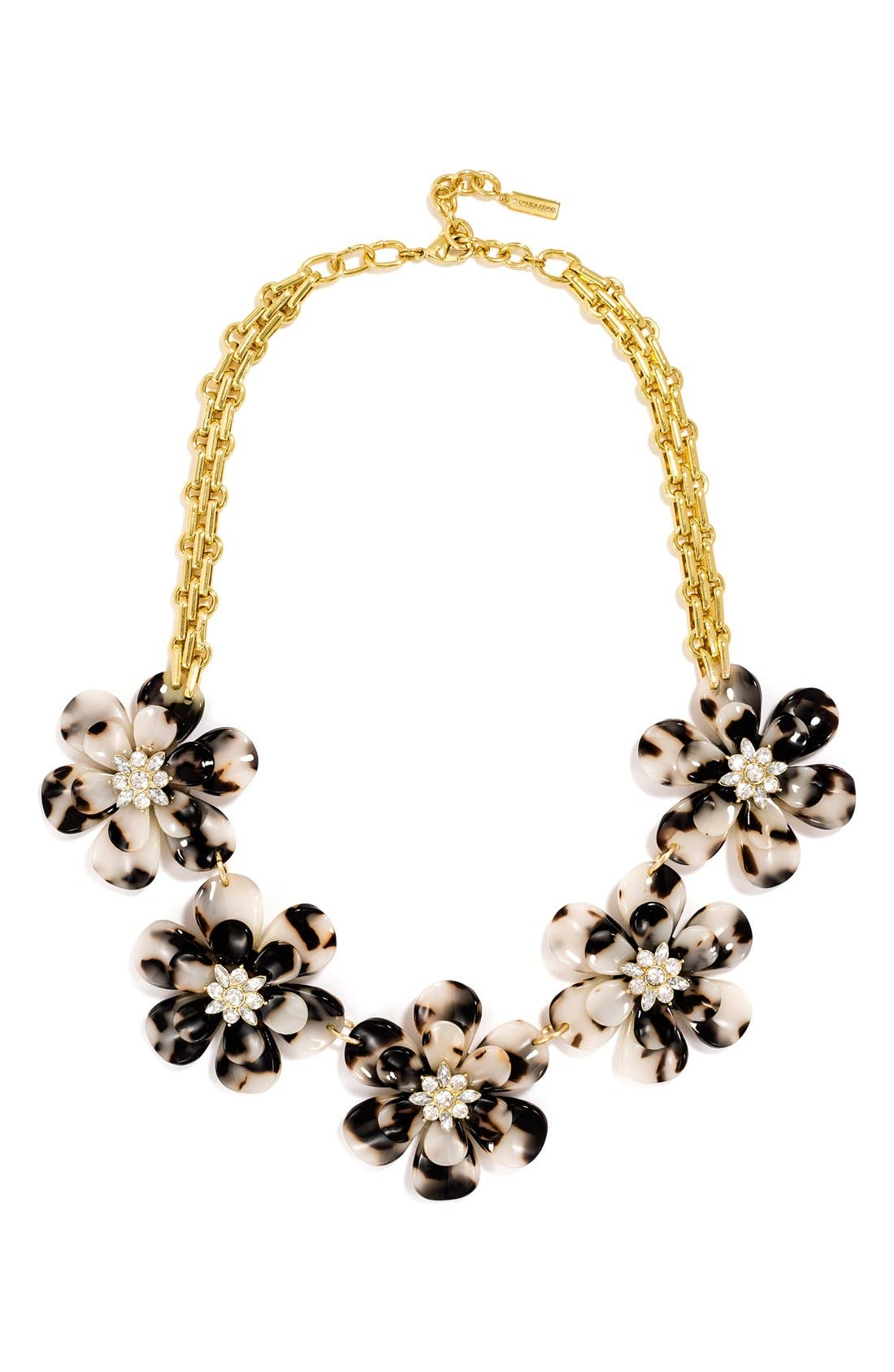 Main Image - BaubleBar 'Twiggy' Floral Collar Necklace