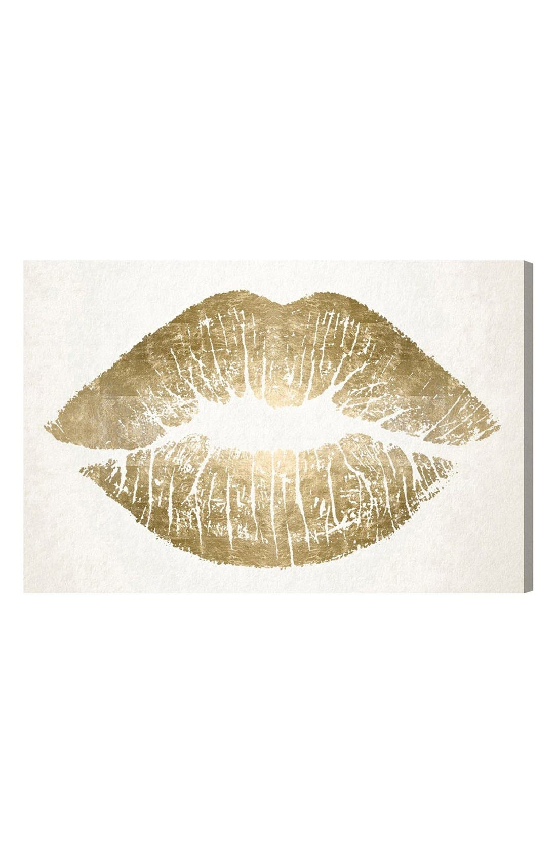 Oliver Gal 'Kiss' Wall Art