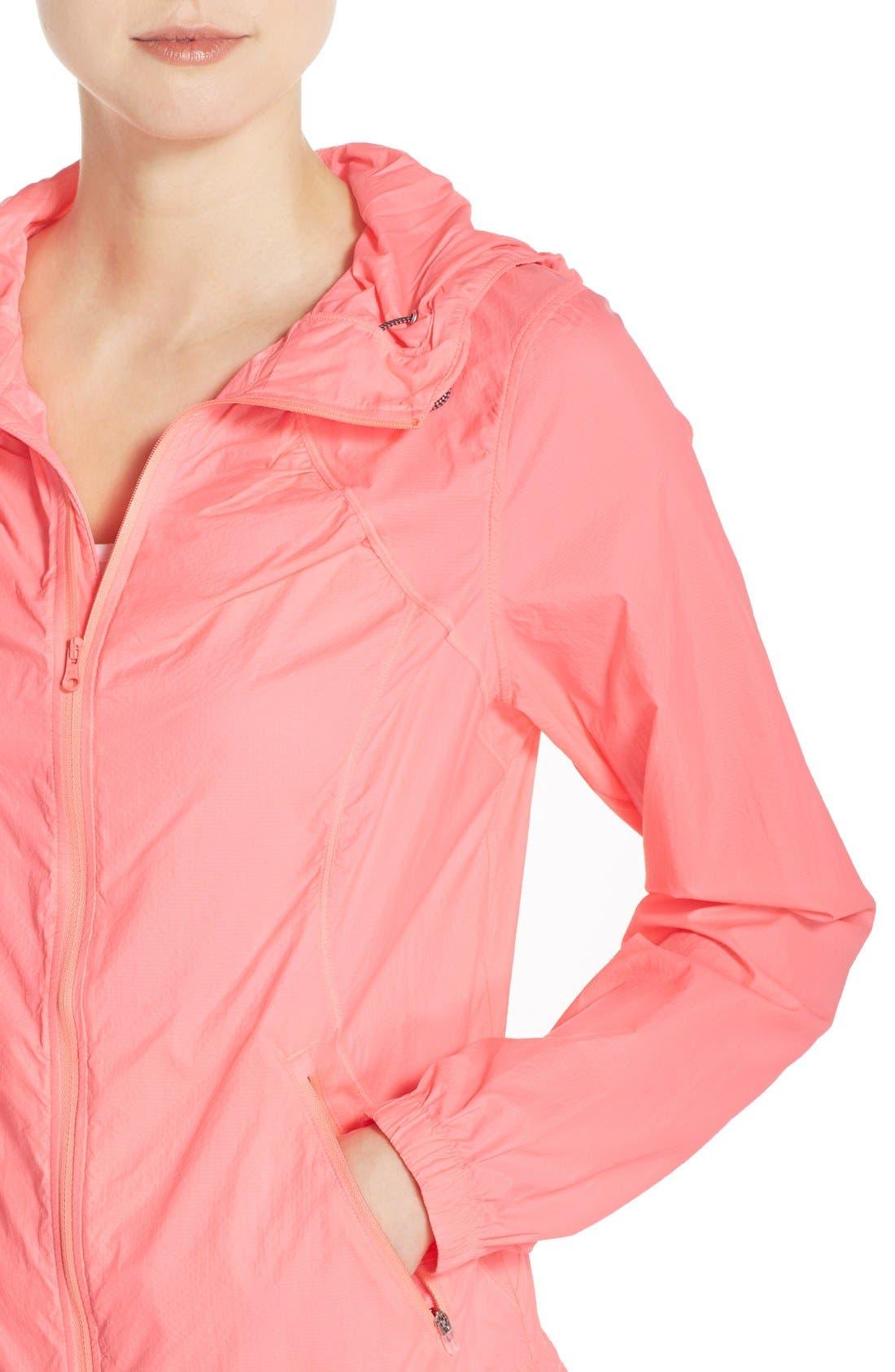 Alternate Image 4  - Zella 'Euphoria' Windbreaker Jacket