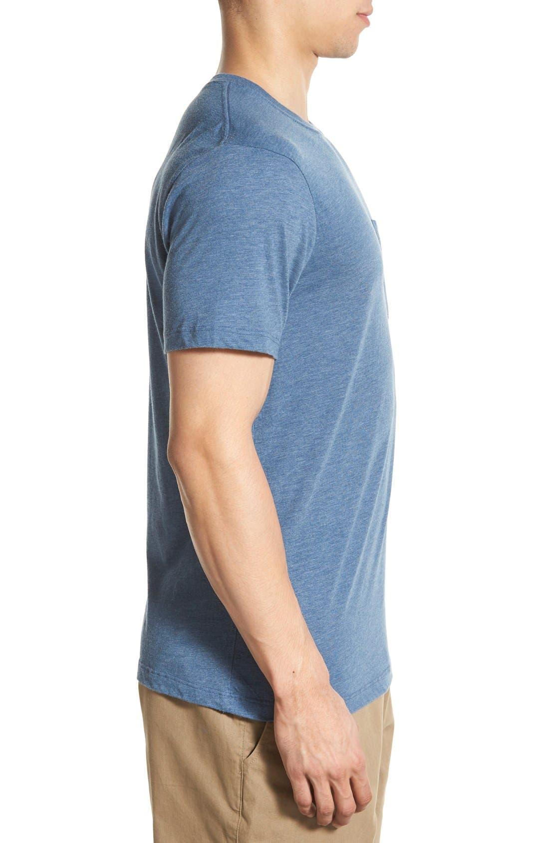 Alternate Image 3  - Patagonia 'Daily Triblend' Pocket T-Shirt
