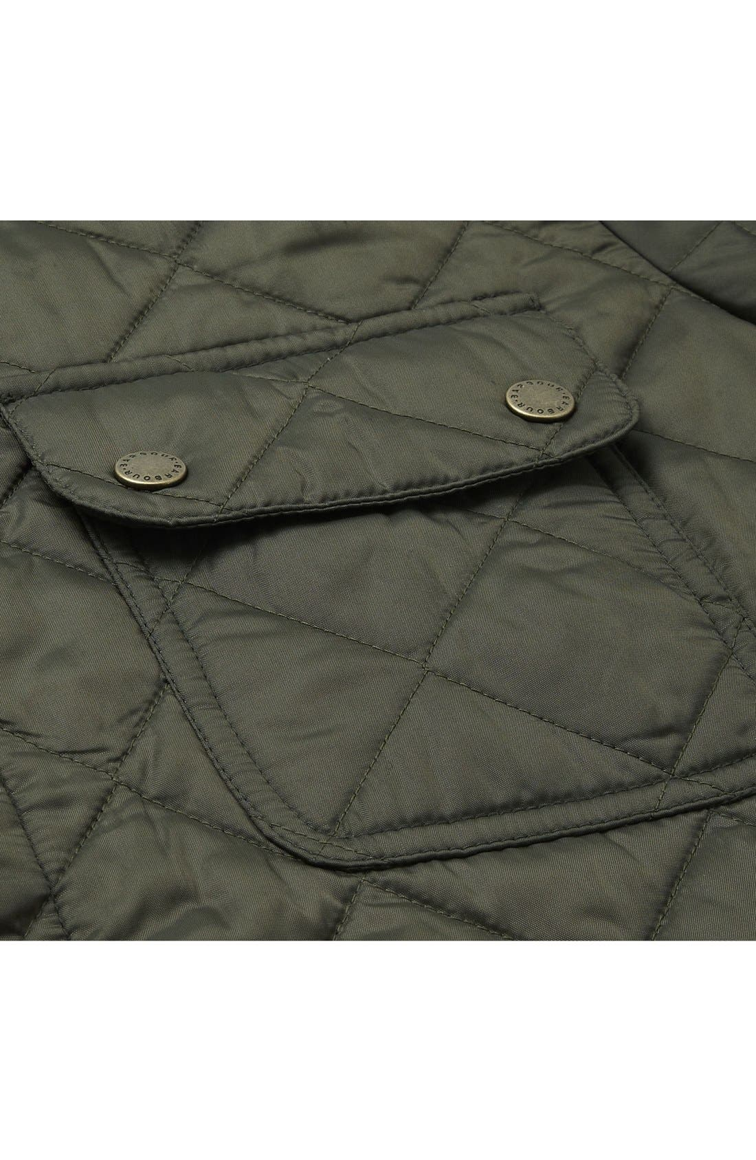 Alternate Image 4  - Barbour 'Tinford' Regular Fit Quilted Jacket
