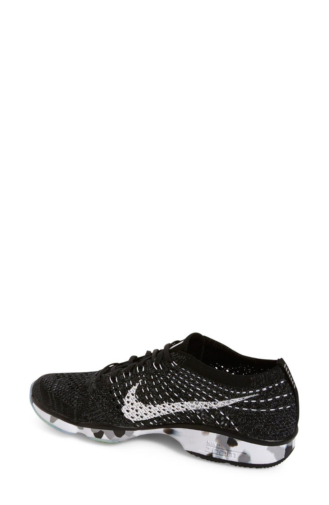 Alternate Image 2  - Nike 'Flyknit Zoom' Agility Training Shoe (Women)