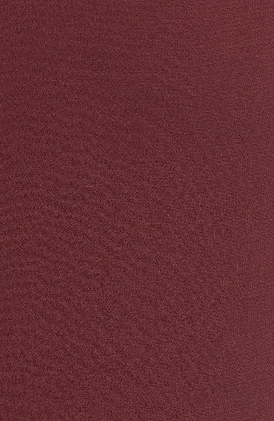 Alternate Image 3  - Erdem 'Joss' Wool Crepe Asymmetric Ruffle Hem Skirt