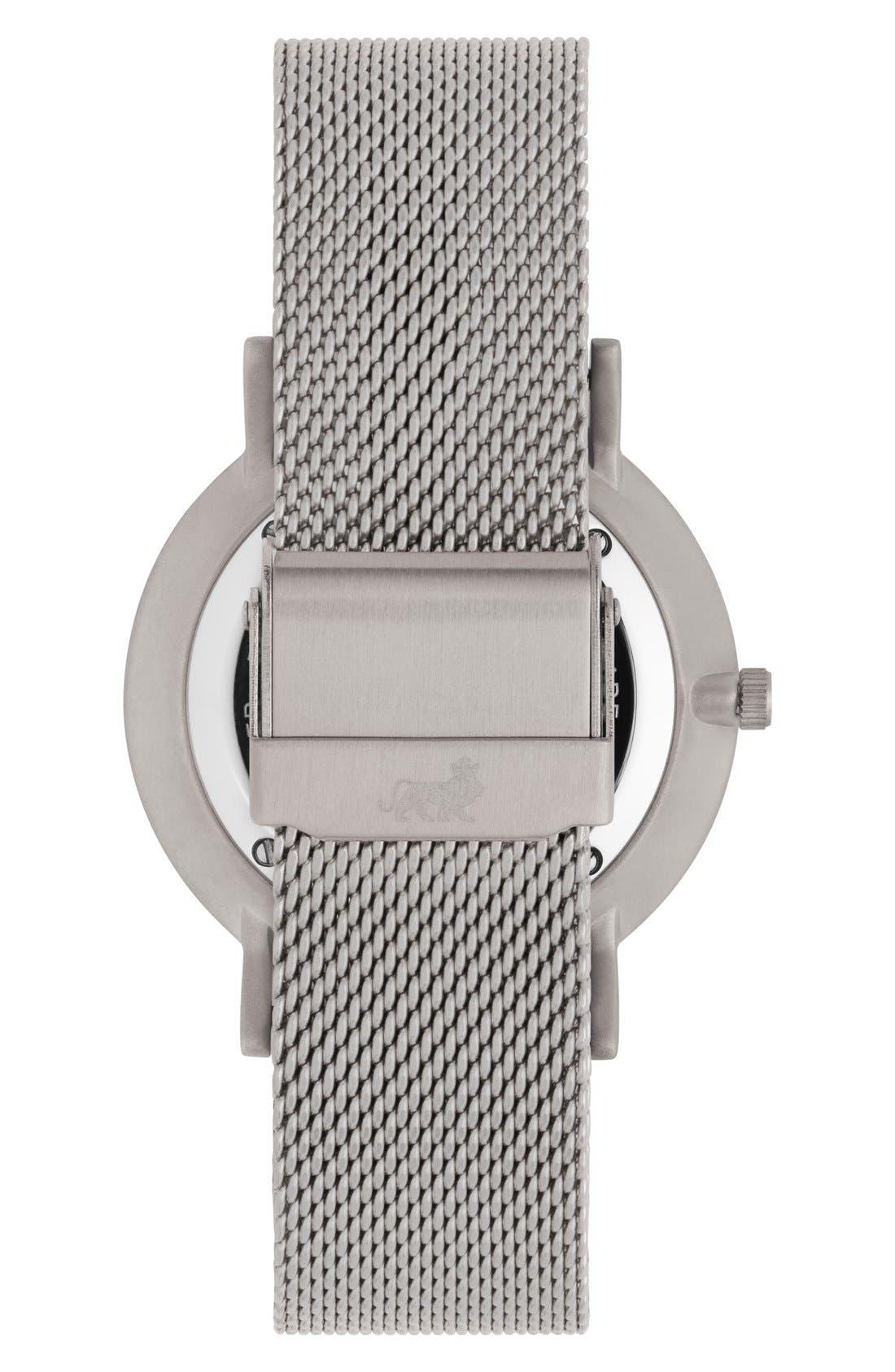 Alternate Image 2  - Larsson & Jennings Lugano Mesh Strap Watch, 40mm