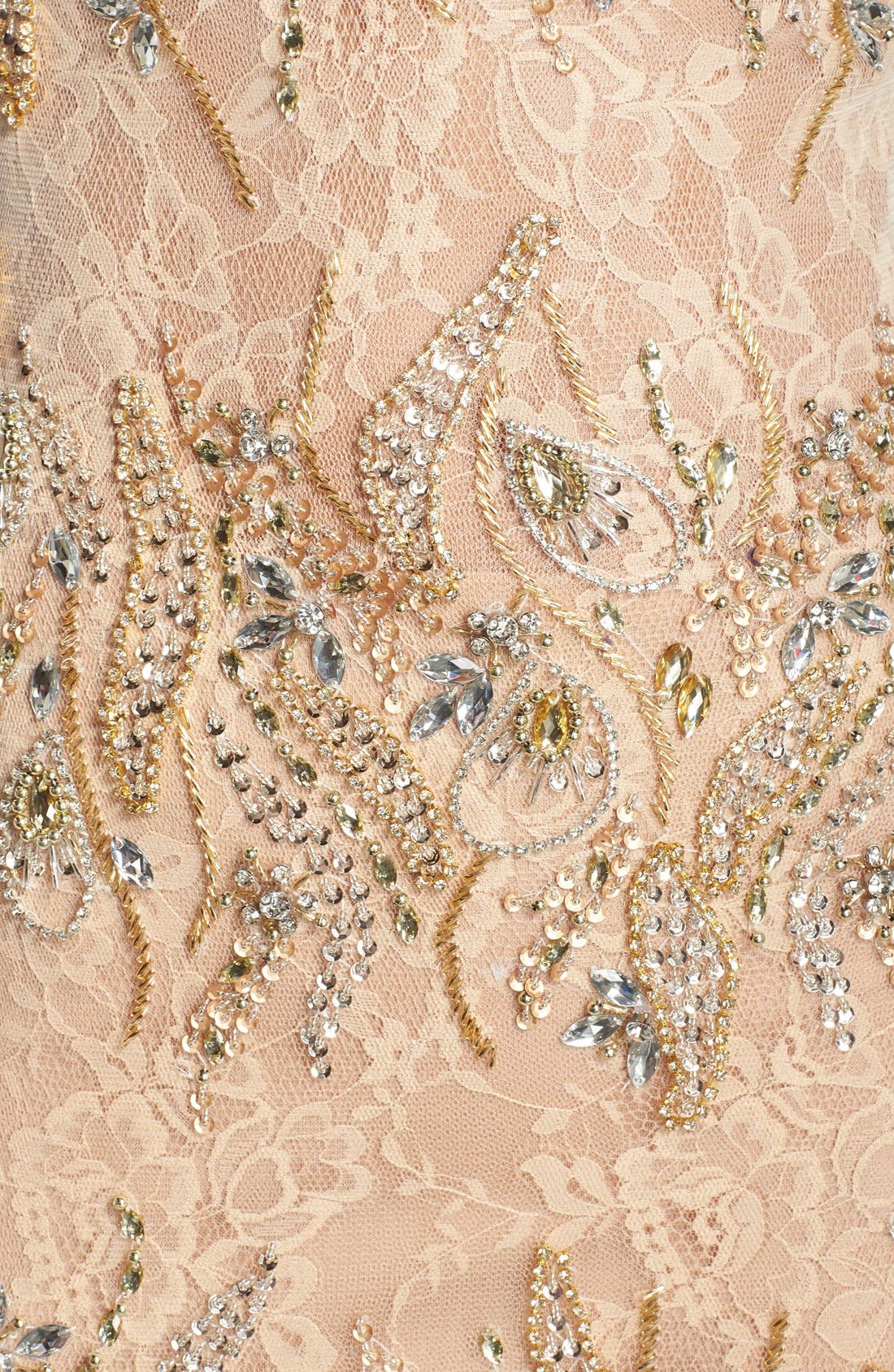 Alternate Image 5  - Terani Couture Embellished Lace Mermaid Gown