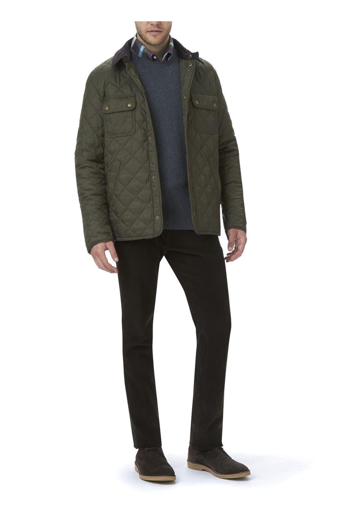 Alternate Image 6  - Barbour 'Tinford' Regular Fit Quilted Jacket