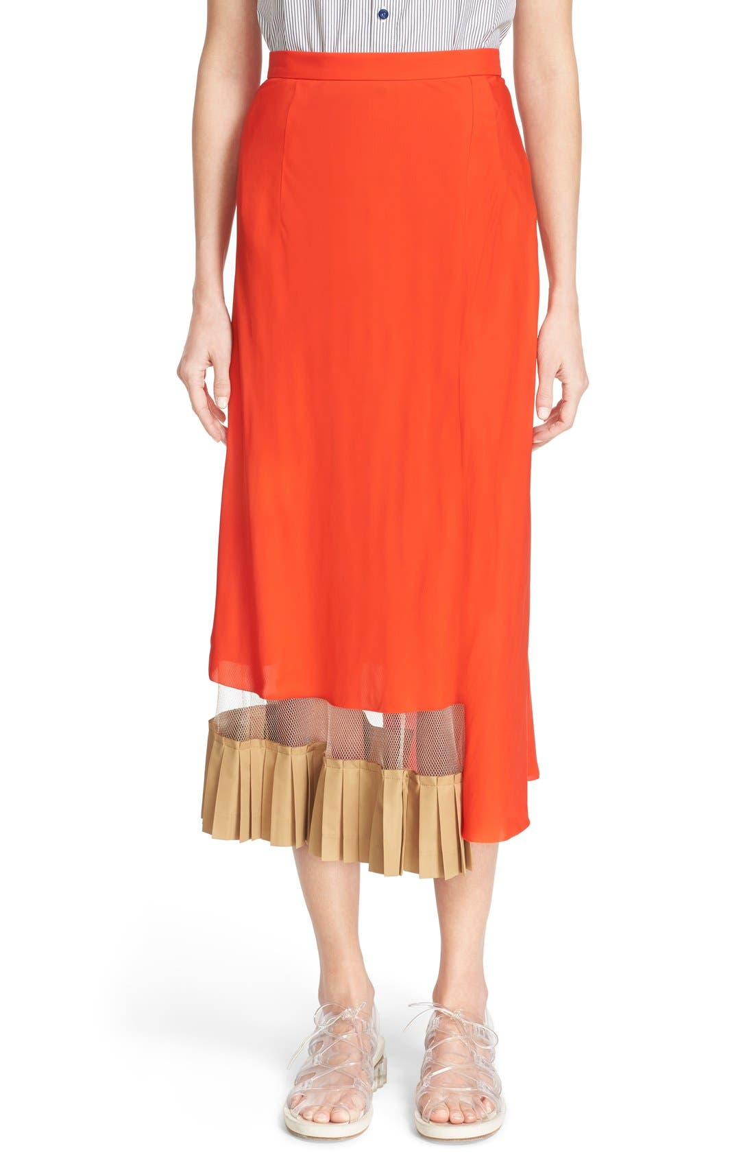 Main Image - TOGA Asymmetrical Illusion Hem Skirt