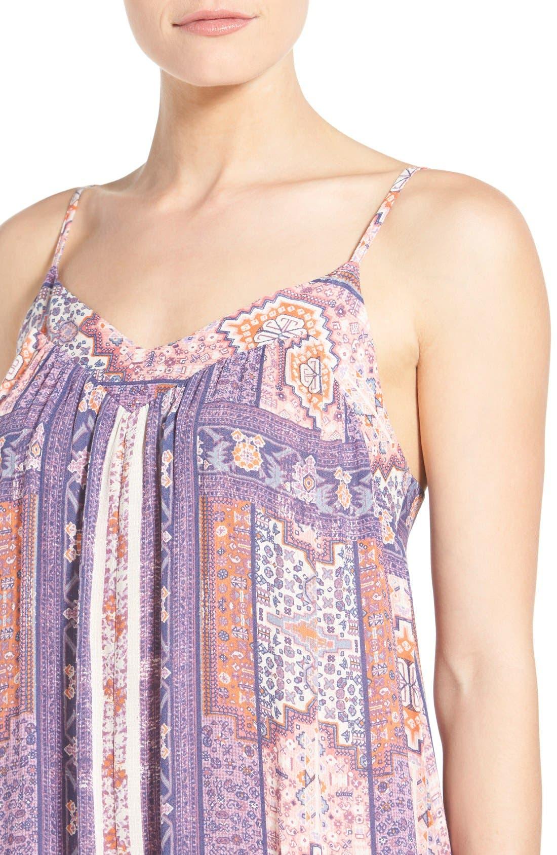 Alternate Image 4  - Lucky Brand Tapestry Print Sundress