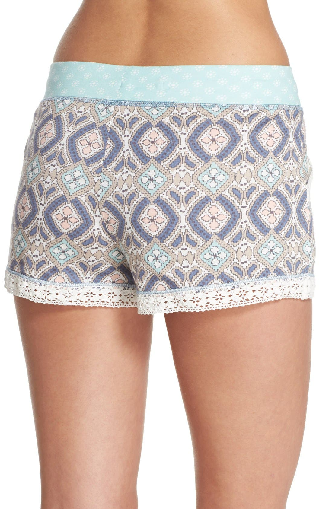 Alternate Image 2  - PJ Salvage 'Miss' Print Pajama Shorts