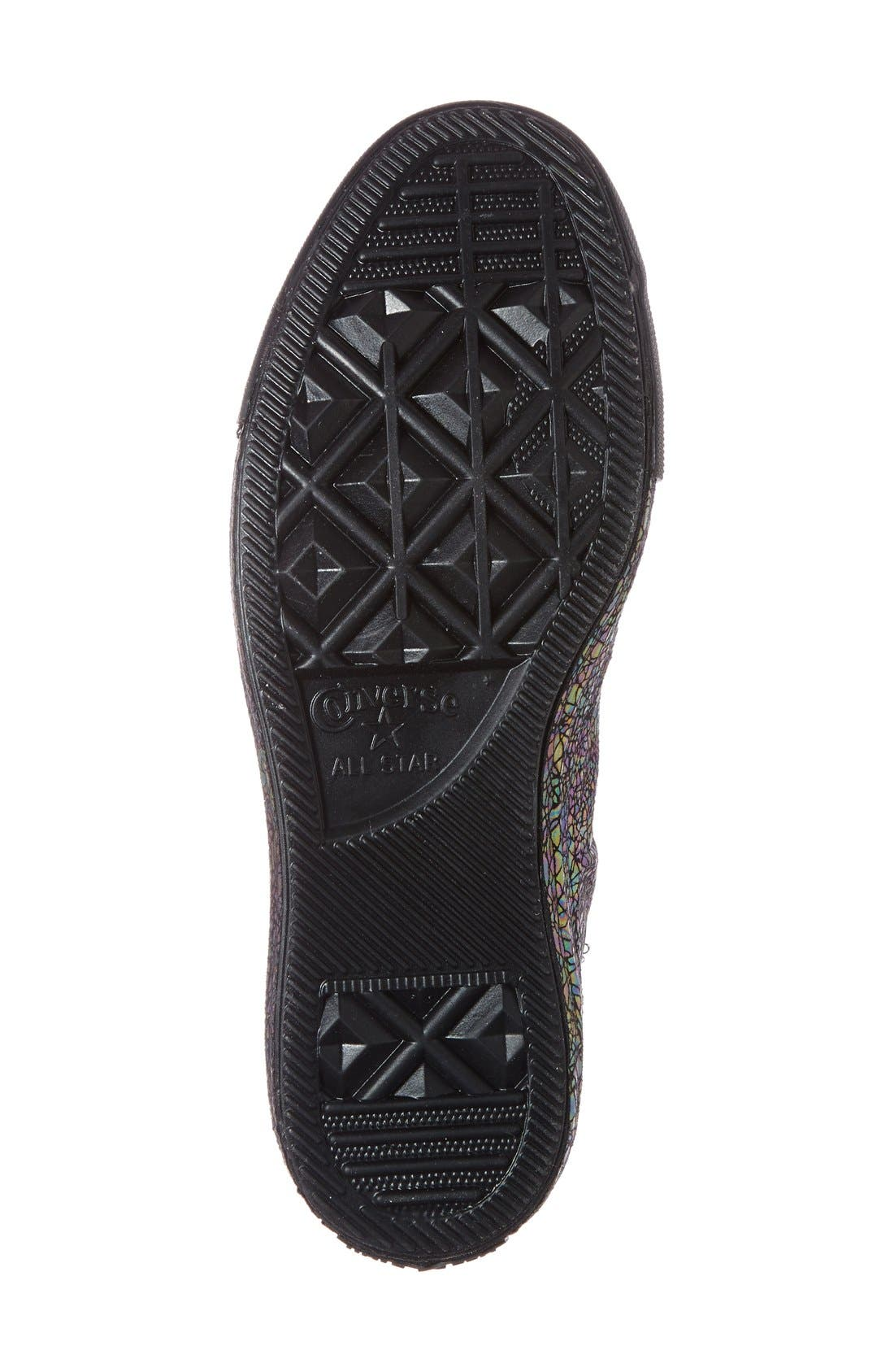 Alternate Image 4  - Converse Chuck Taylor® All Star® 'Oil Slick Shroud' High Top Sneaker (Women)