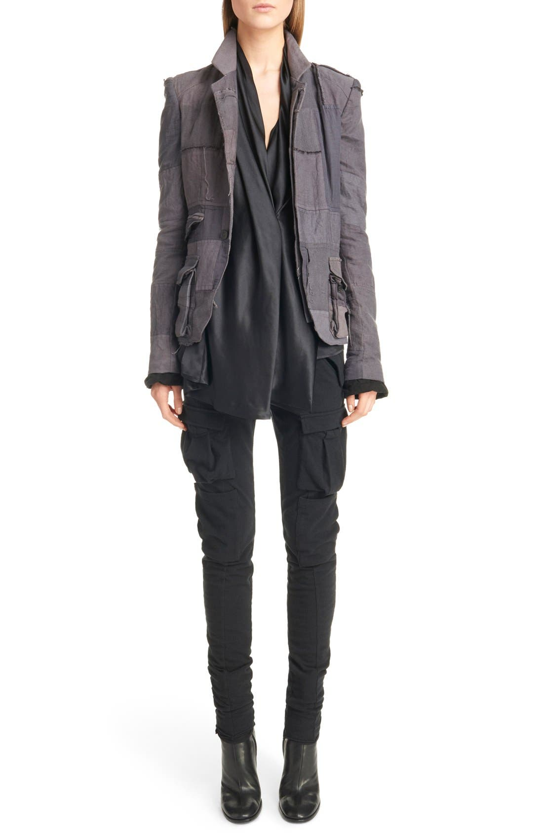 Alternate Image 1 Selected - Haider Ackermann Patchwork Jacket