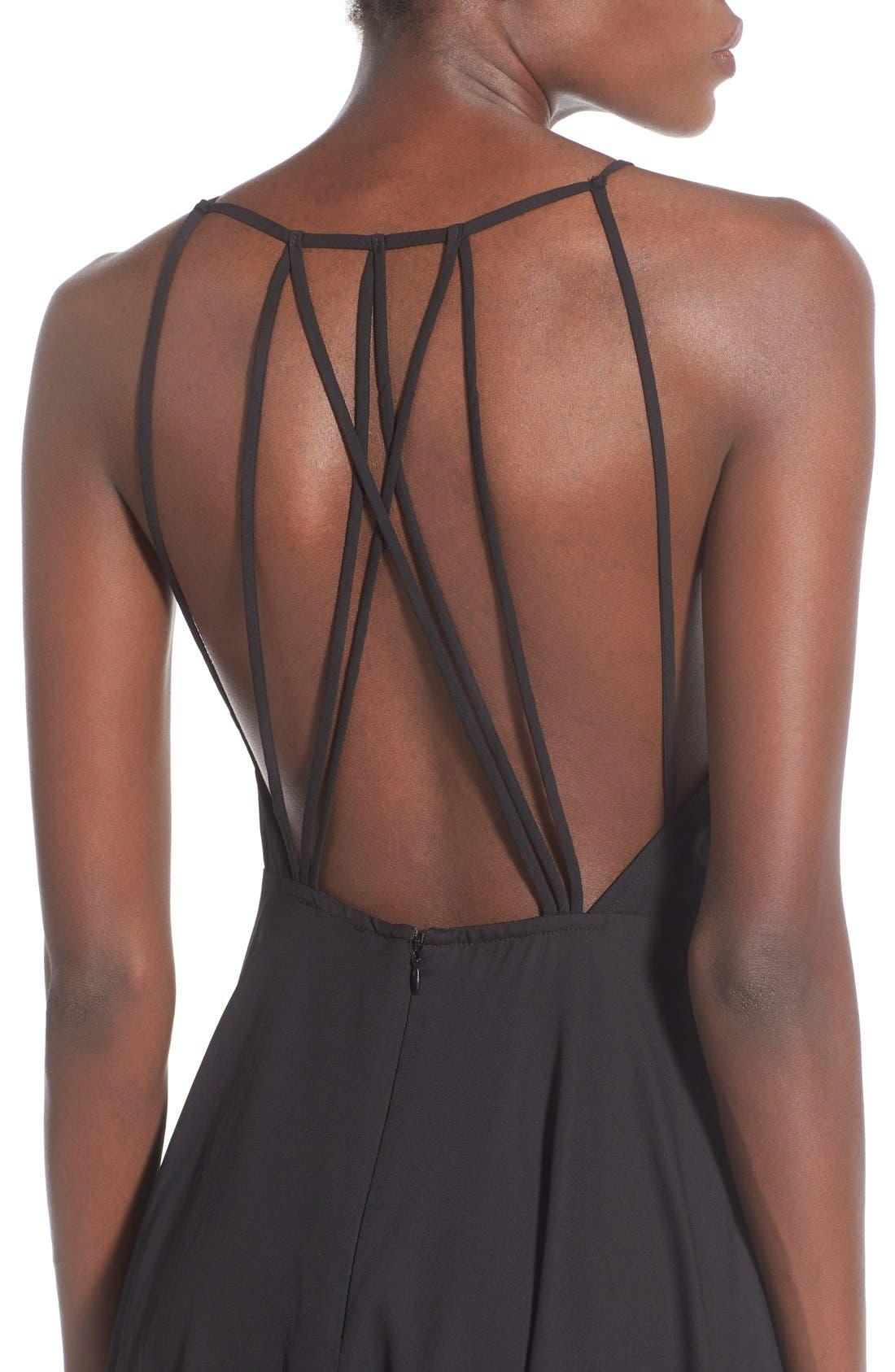 Alternate Image 4  - BP. Strappy Back Skater Dress