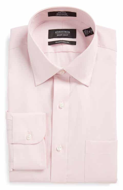 Dress Shirts for Men, Men's Pink Dress Shirts, French Cuff | Nordstrom