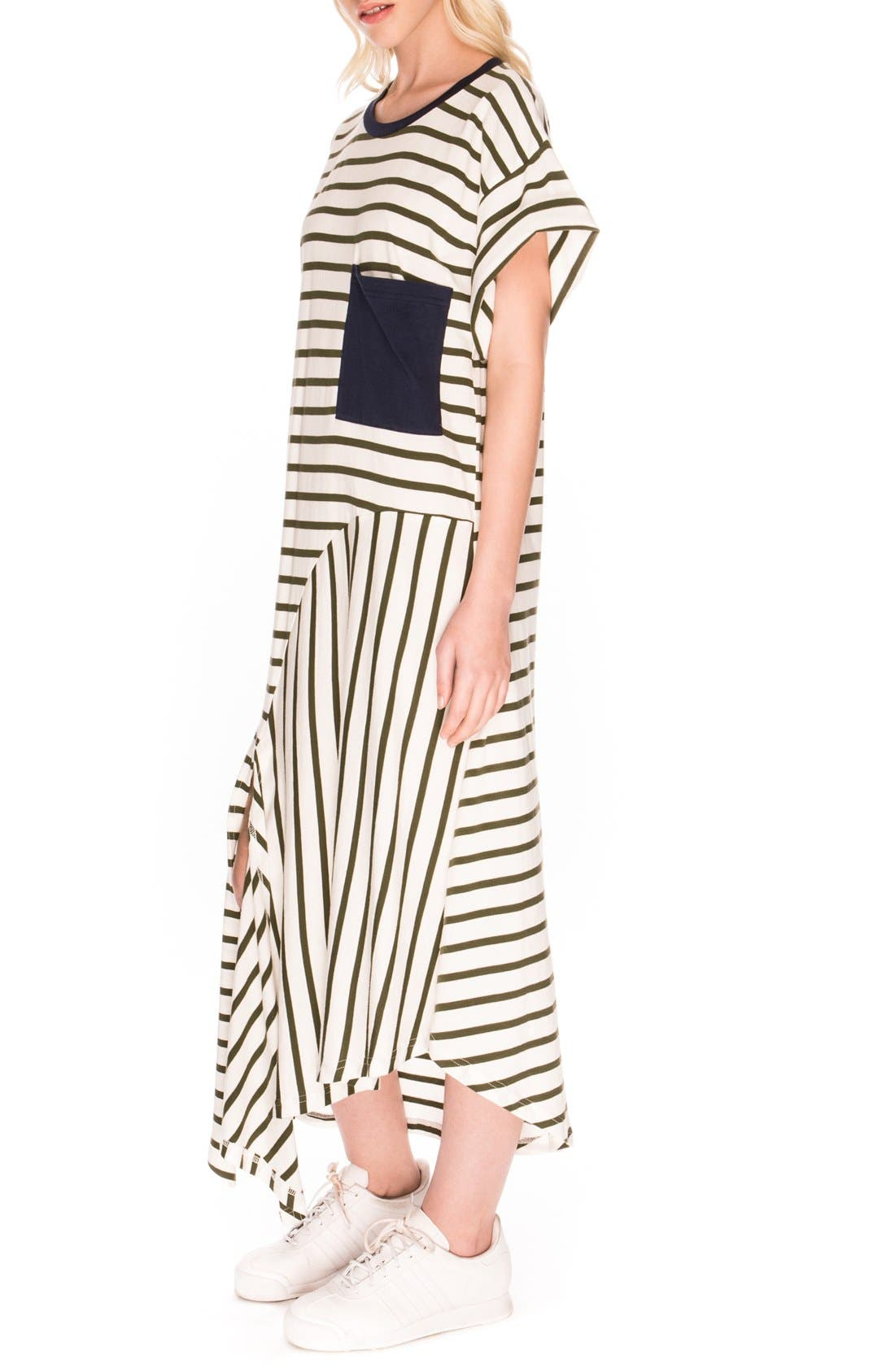 Alternate Image 3  - The Fifth Label 'On Your Mark' Stripe T-Shirt Dress