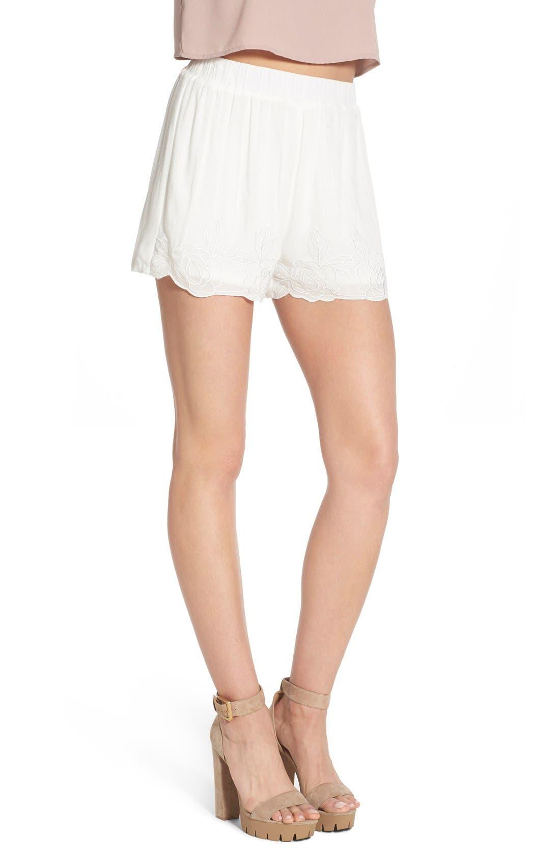 Alternate Image 3  - Glamorous Embroidered Shorts