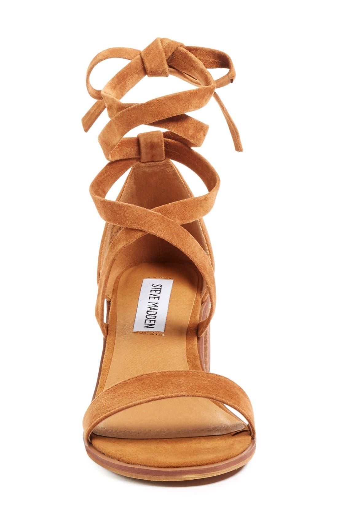 Alternate Image 3  - Steve Madden 'Rizzaa' Ankle Strap Sandal (Women)
