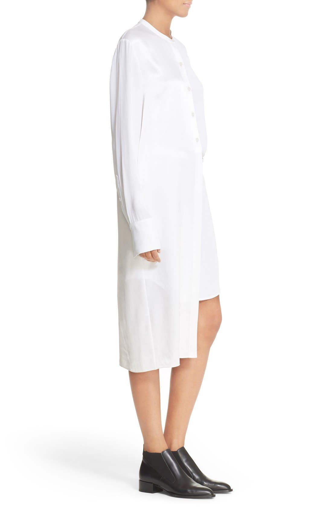 Alternate Image 3  - DKNY Panel Overlay Woven Shirtdress