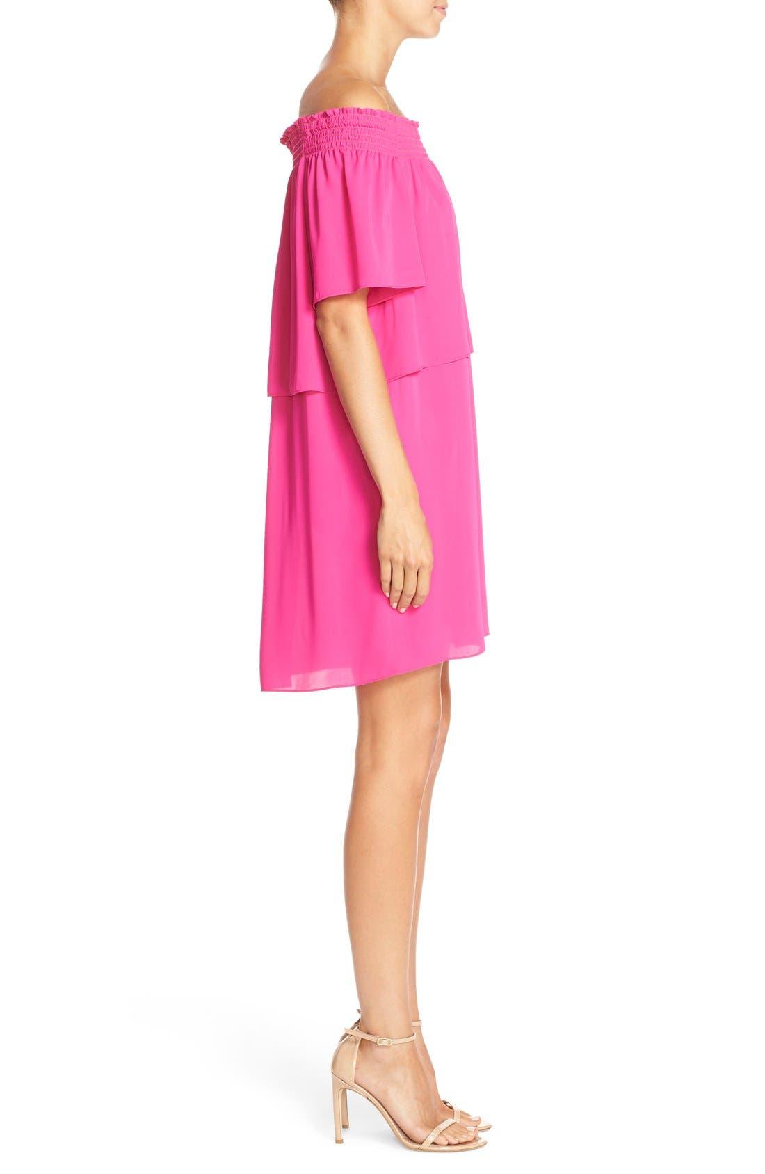 Alternate Image 3  - Amanda Uprichard 'Cleo' Popover Off the Shoulder Dress