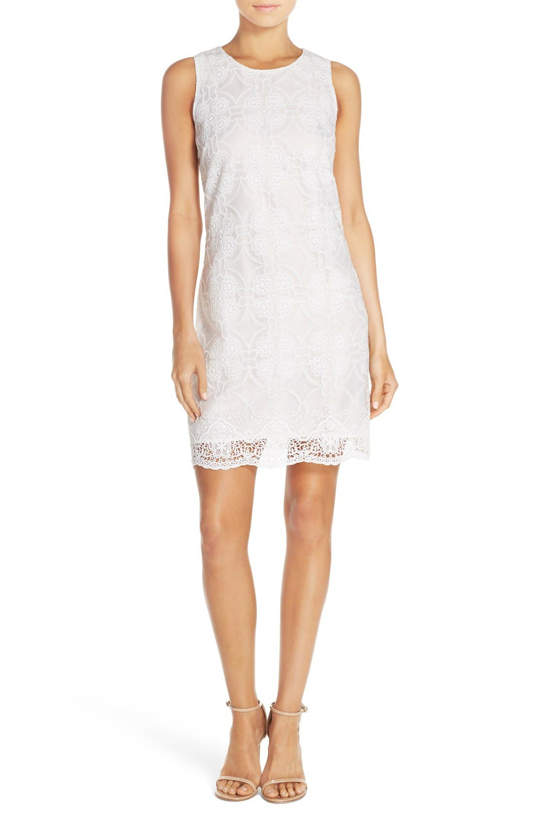 Alternate Image 1 Selected - Ali & Jay Embroidered Shift Dress